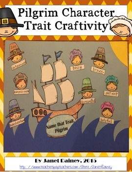 Thanksgiving Character Trait Craftivity