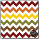 Thanksgiving Chevron on White Digital Papers {Commercial U