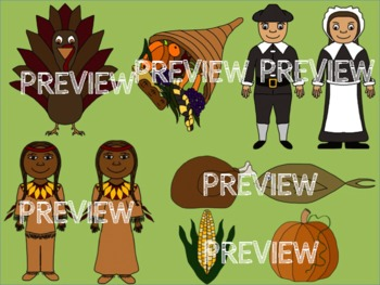 Thanksgiving Clip Art for Commercial Use