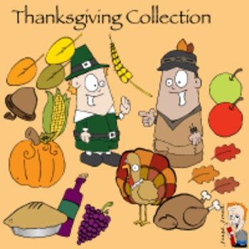 Thanksgiving Clipart Collection