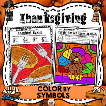 Thanksgiving Color By Number (Music)