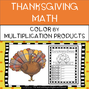 Thanksgiving - Color by Multiplication Product