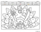 Thanksgiving Coloring Page by Math Strategies