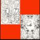 Thanksgiving Coloring Pages, Zen Doodles.