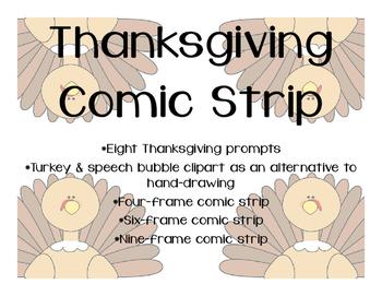 Thanksgiving Comic Strip