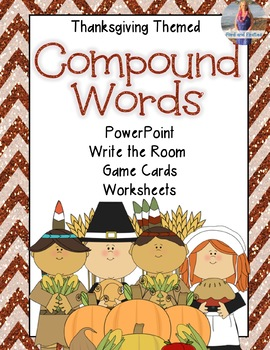 Thanksgiving Compound Words Activities!