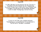 Thanksgiving Comprehension- 10 Facts- Read and Write The R