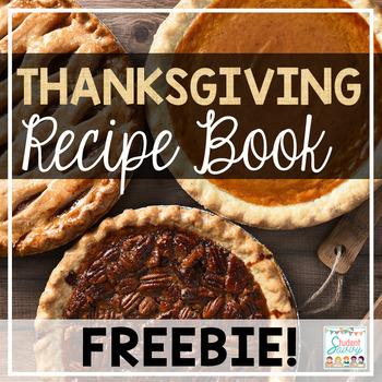 Thanksgiving Recipe Book Freebie!