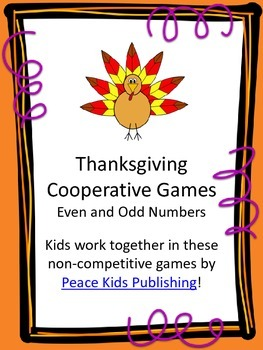 Thanksgiving Cooperative Games: Even and Odd Numbers