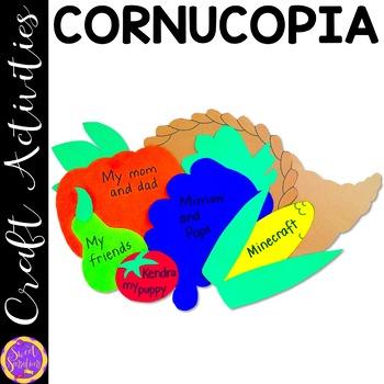 Thanksgiving Cornucopia Craft Activity