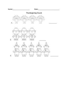 Thanksgiving Count