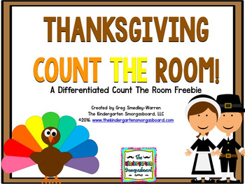 Thanksgiving Numbers And Counting!  November Count The Room!