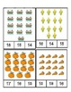 Thanksgiving - Math - Count and Clip Cards #1-24