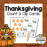 Thanksgiving Counting - FREE!