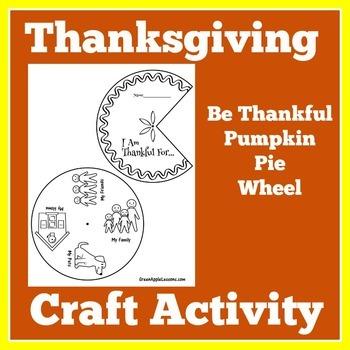 Thanksgiving Craft | Thanksgiving Activity | Thanksgiving