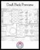 Thanksgiving Craft Pack: Turkey, Pilgrims, Native American