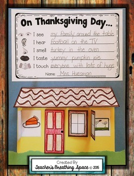 Thanksgiving Craftivity --- Exploring Thanksgiving With Ou