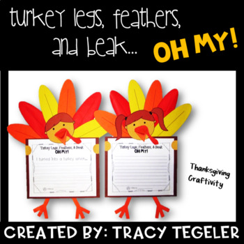 "Thanksgiving Craftivity- ""I'm a Turkey!"""