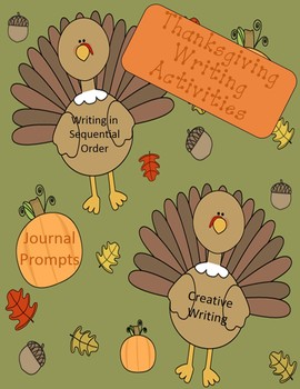 Thanksgiving Creative Writing Activities