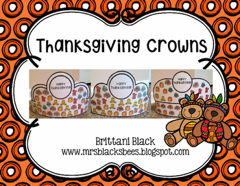 Thanksgiving Crowns