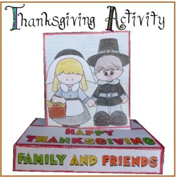 Thanksgiving Day Craftivity