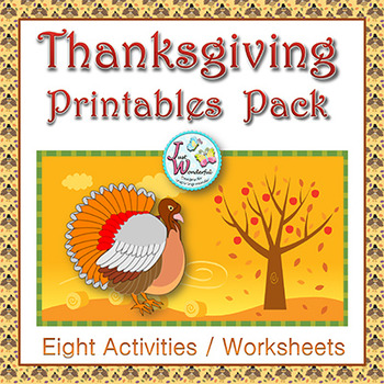 Thanksgiving - Math and Literacy Activities