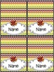 Thanksgiving Decor - EDITABLE {Nameplates} {Napkin Rings}