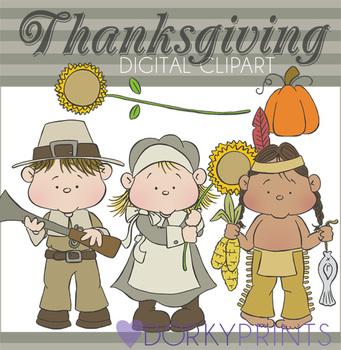 Thanksgiving Digital Clip Art Images