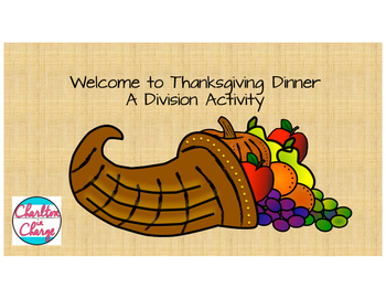 Thanksgiving Dinner: A Division Activity