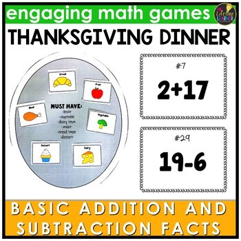 Addition and Subtraction Facts Game