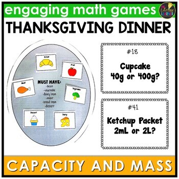 Capacity and Mass Game
