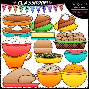 Thanksgiving Dinner Clip Art - Thanksgiving Clip Art