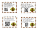 Thanksgiving Division Word Problems Task Cards with QR Codes