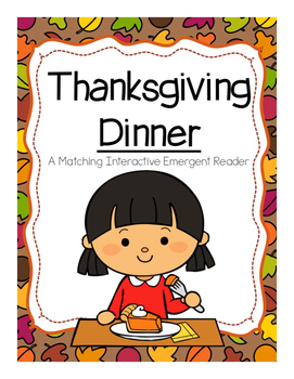 Thanksgiving Emergent Reader (Matching)