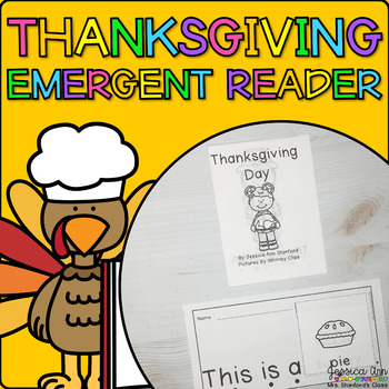 Thanksgiving {Emergent Readers}