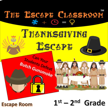 Thanksgiving Escape Room (1-2 Grade)