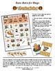 "Thanksgiving ""FEAST"" bingo Game with mini flashcards"