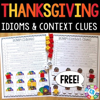 Thanksgiving FREE: Thanksgiving Activities | Thanksgiving