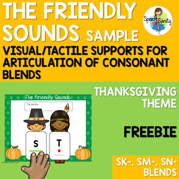Thanksgiving Friendly Sounds: Articulation Supports for Sm