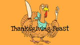 Thanksgiving Feast Bar Graph