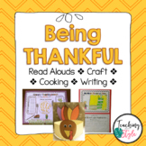 Thanksgiving Feast Classroom Party & Writing Project