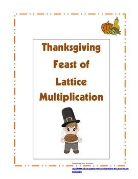 Thanksgiving Feast of Lattice Multiplication