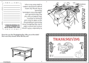Thanksgiving Flip Book