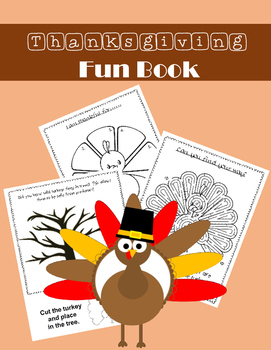 Thanksgiving Fun Book
