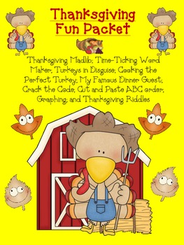 Thanksgiving Fun Packet