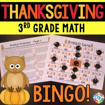 3rd Grade Thanksgiving Activity: 3rd Grade Thanksgiving Ma