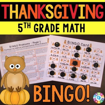 5th Grade Thanksgiving Activity: 5th Grade Thanksgiving Ma