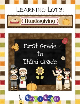 Thanksgiving Games and Activities for First, Second and Th