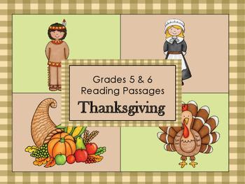 Thanksgiving: Grades 5 and 6