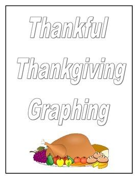 Thanksgiving Graphing Math